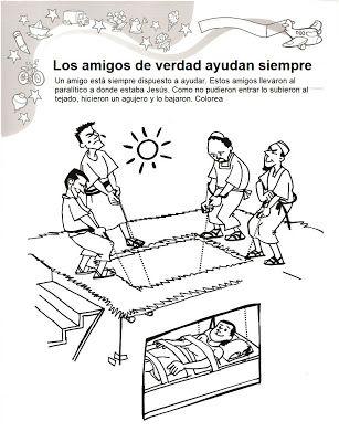 BUENAS NOTICIAS PARA LOS NIÑOS: Nuevo Testamento | kolorowanki ...