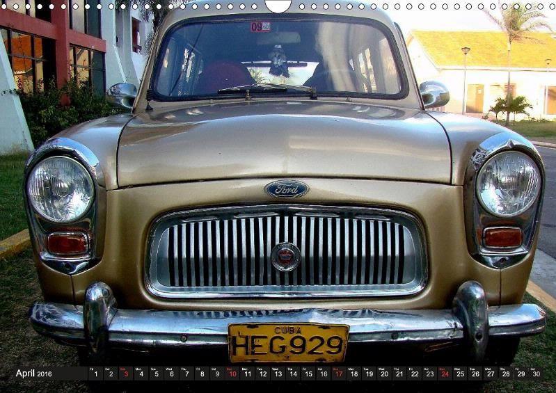 British Cars in Cuba - CALVENDO
