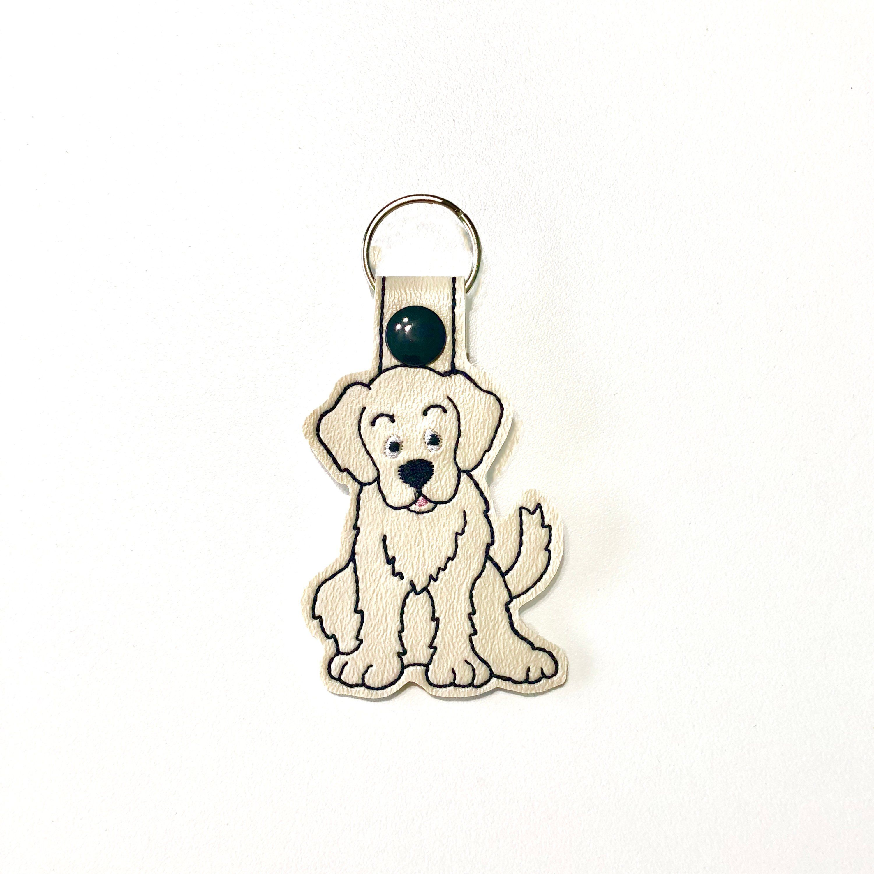 Golden Retriever Key Fob Dog Lover Gift Stocking Stuffer Christmas Gift For Her By Houndstreetboutique On Etsy Dog Lover Gifts Dog Lovers Cat Key