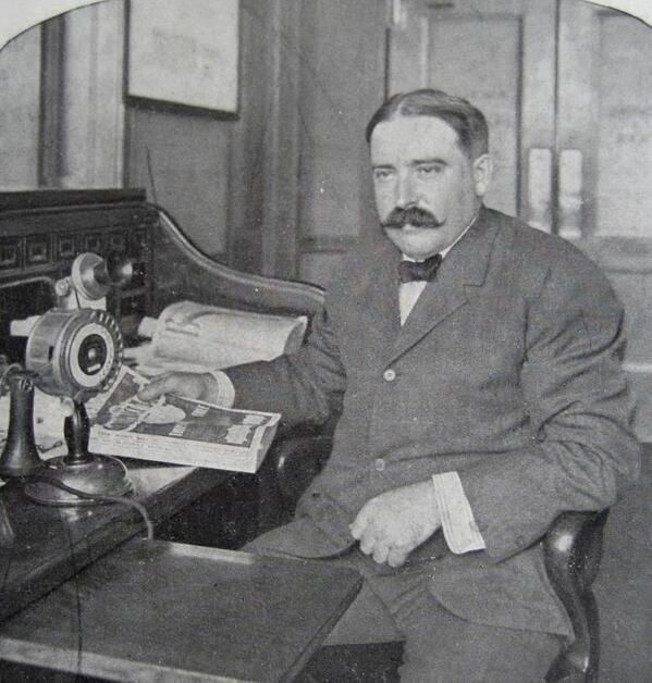 """★Old Photos & Maps★ (@Lost & Found Gallery) tweeted at 7:42 PM on Sun, May 25, 2014: Richard Sears of """"Sears and Roebuck Company) early 1900s. #Chicago #Sears"""