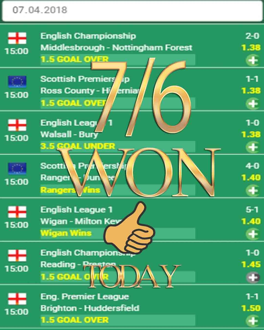 Todays matches betting tips meaning of football betting terms