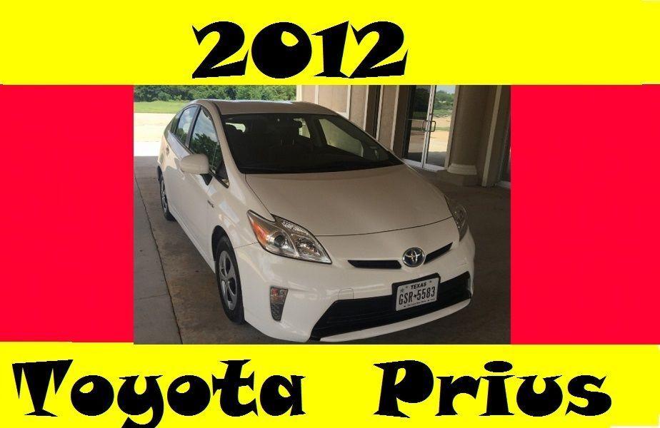 Nice Great 2012 Toyota Prius 2012 TOYOTA PRIUS Base Hybrid Hatchback