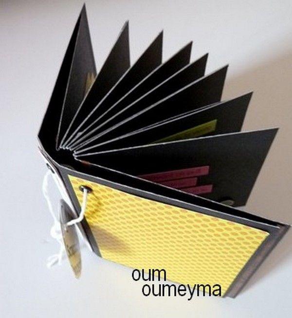 Tuto Mini Sympa - Reliure Simple à Faire