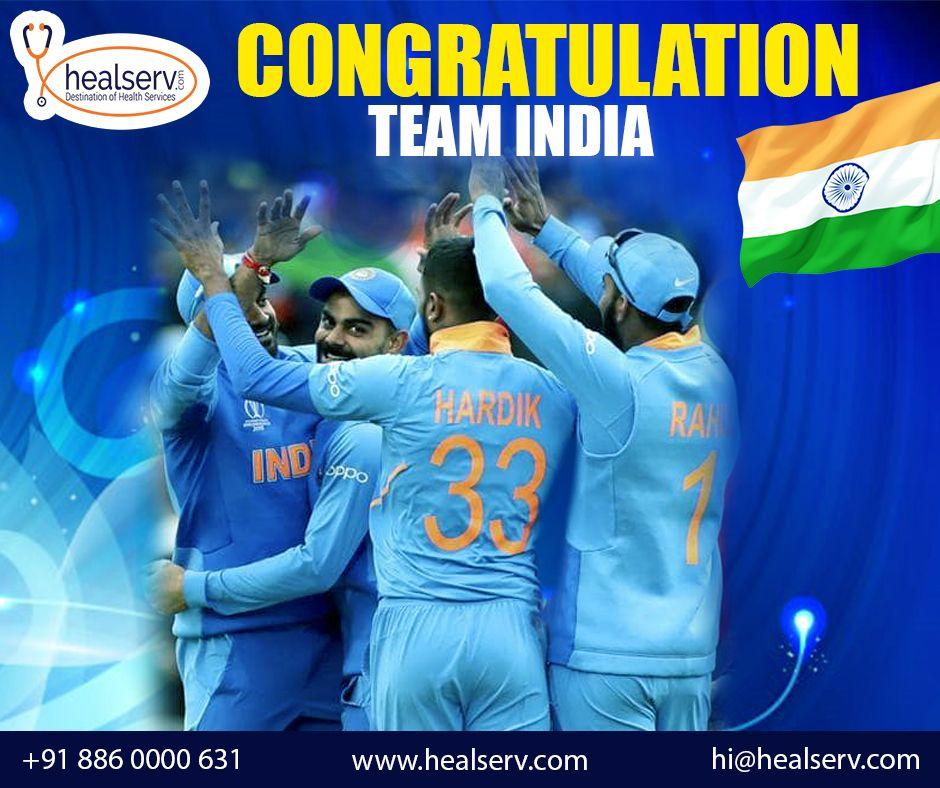 Congratulations Team India Online doctor, Hospital near