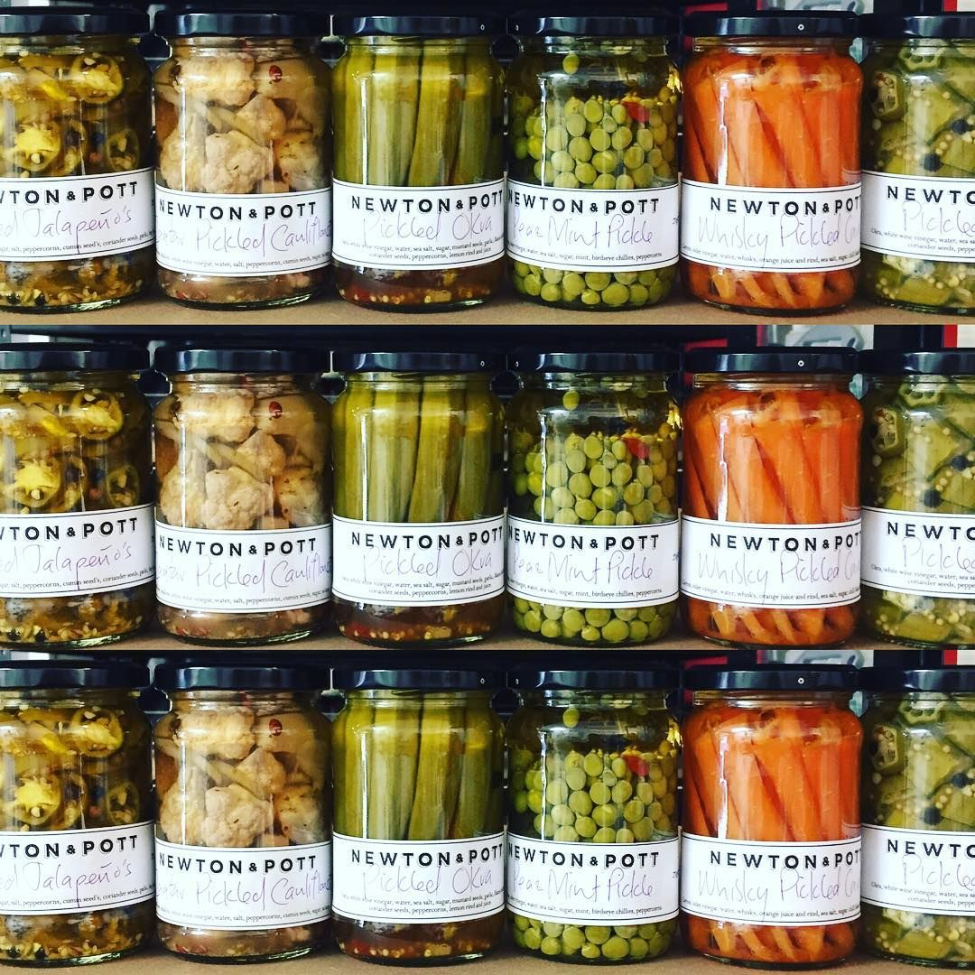 We have gone a bit pickle mad this August so make your way down for a pickle festival on my stall @broadwaymarket all of this Month!!! #ginpickledcucumber #whiskypickledcarrots #peaandmintpickle #pickledonions #pickledokra #zaatarpickledcauliflower #pickledbabybeets #pickledjalapenos #pickles #pickle #pickled #fermentation #letsgetpickled #pickledonion #pickledveggies #pickledvegetables #picklefever #everythingpickled