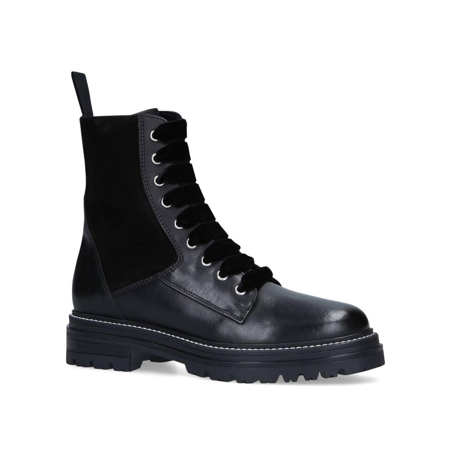 Carvela Black 'Sultry' Biker Boots in