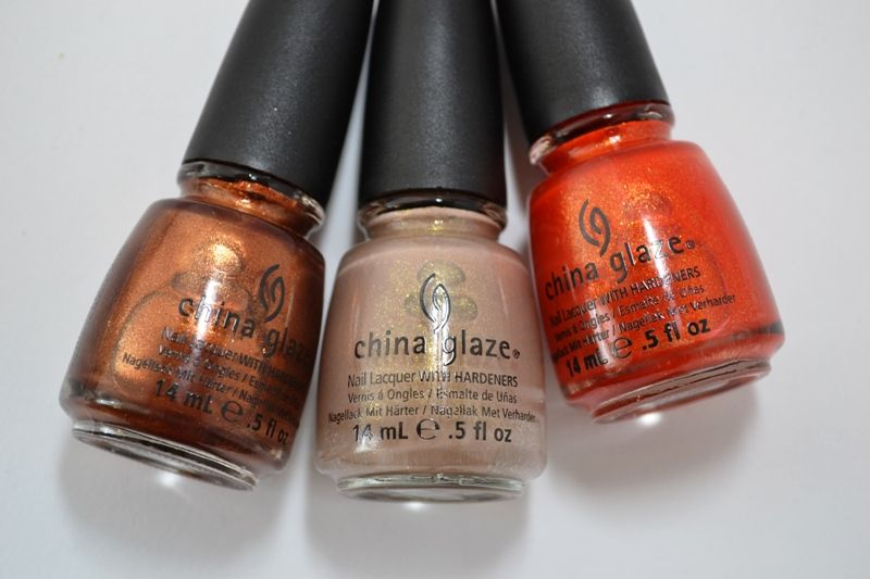 China Glaze's collection inspired by Hunger Games via Bloomin Beauty.