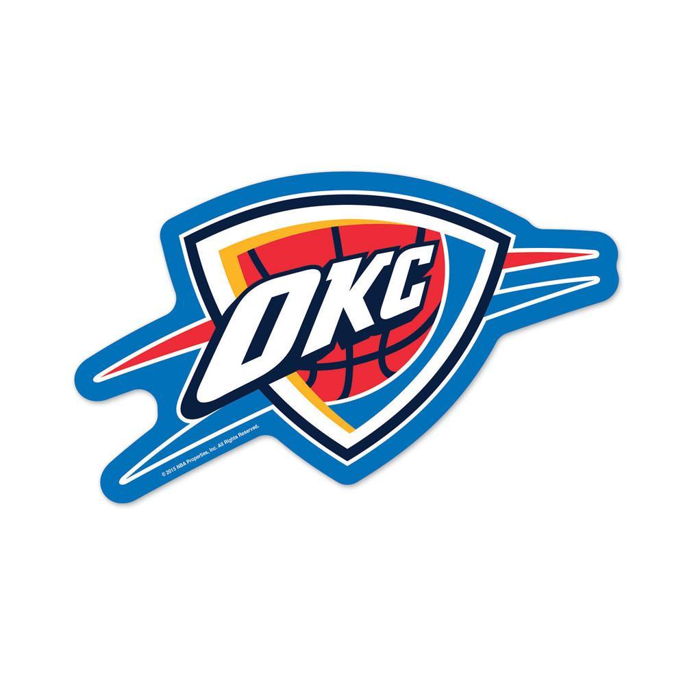 Oklahoma City Thunder Logo On The Gogo Oklahoma City Thunder