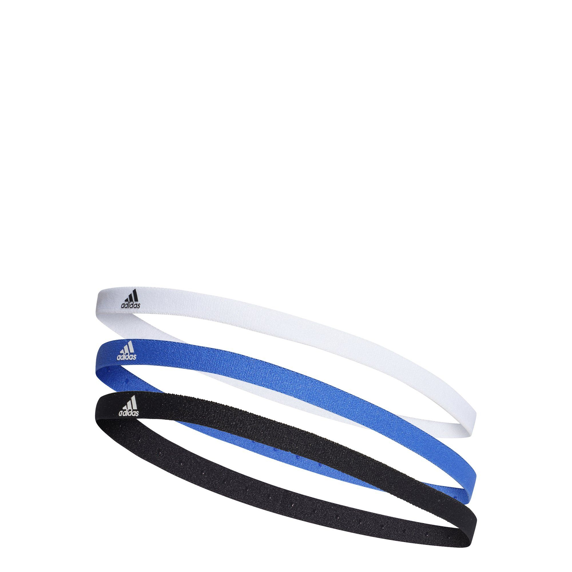 8645ceac09e1 Adidas Training Hairband 3 Pack Running 3 Colors Accessories Logo ...