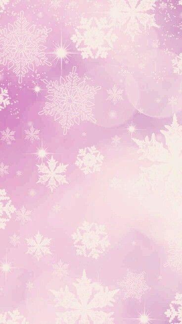 Pretty Snowflakes Smartphone Wallpaper Snowflake Wallpaper