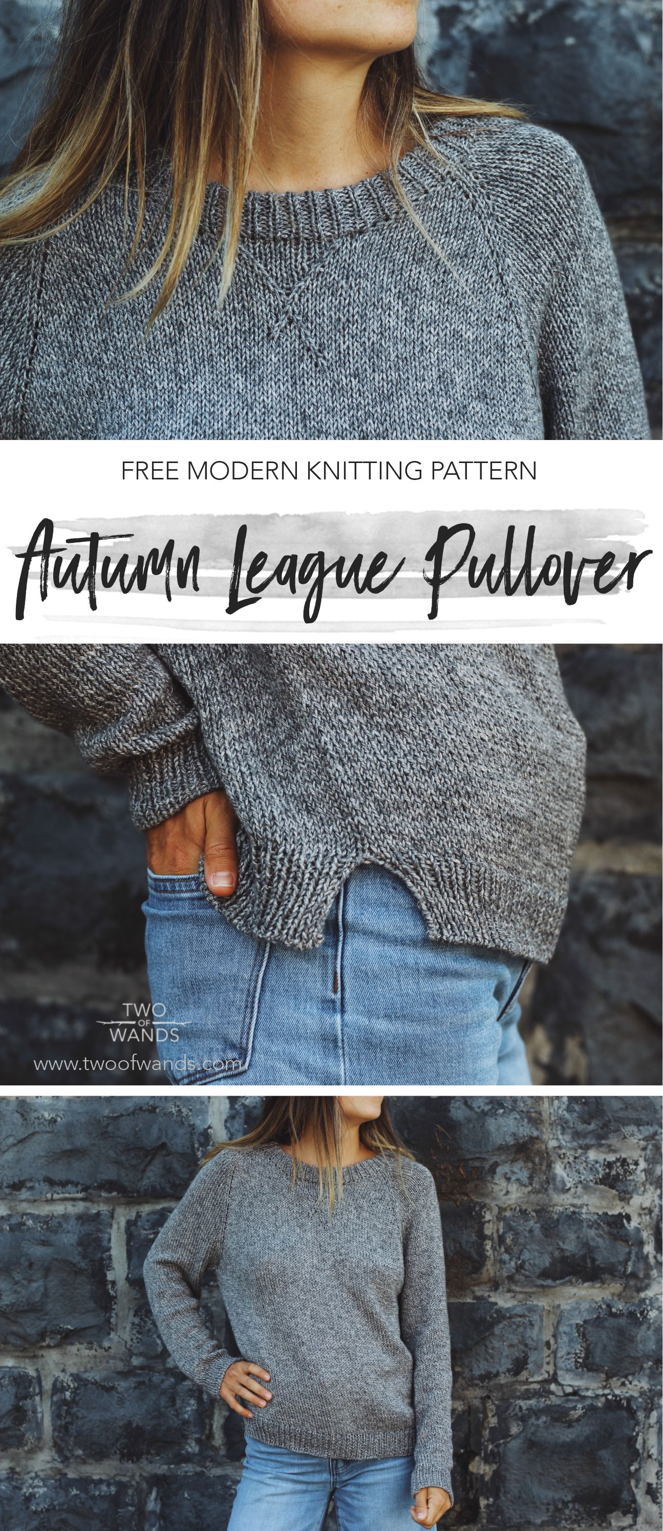 Autumn League Pullover — Two of Wands