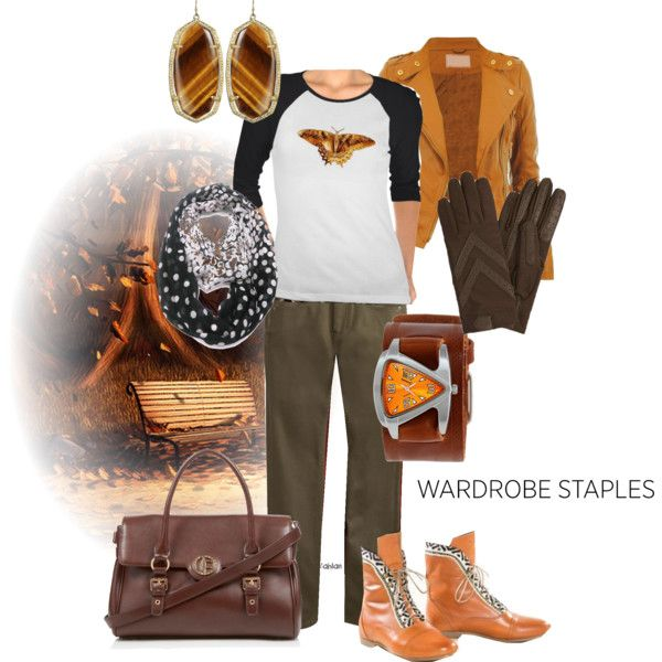 """""""Autumn-time quirky"""" by maria-kuroshchepova on Polyvore"""