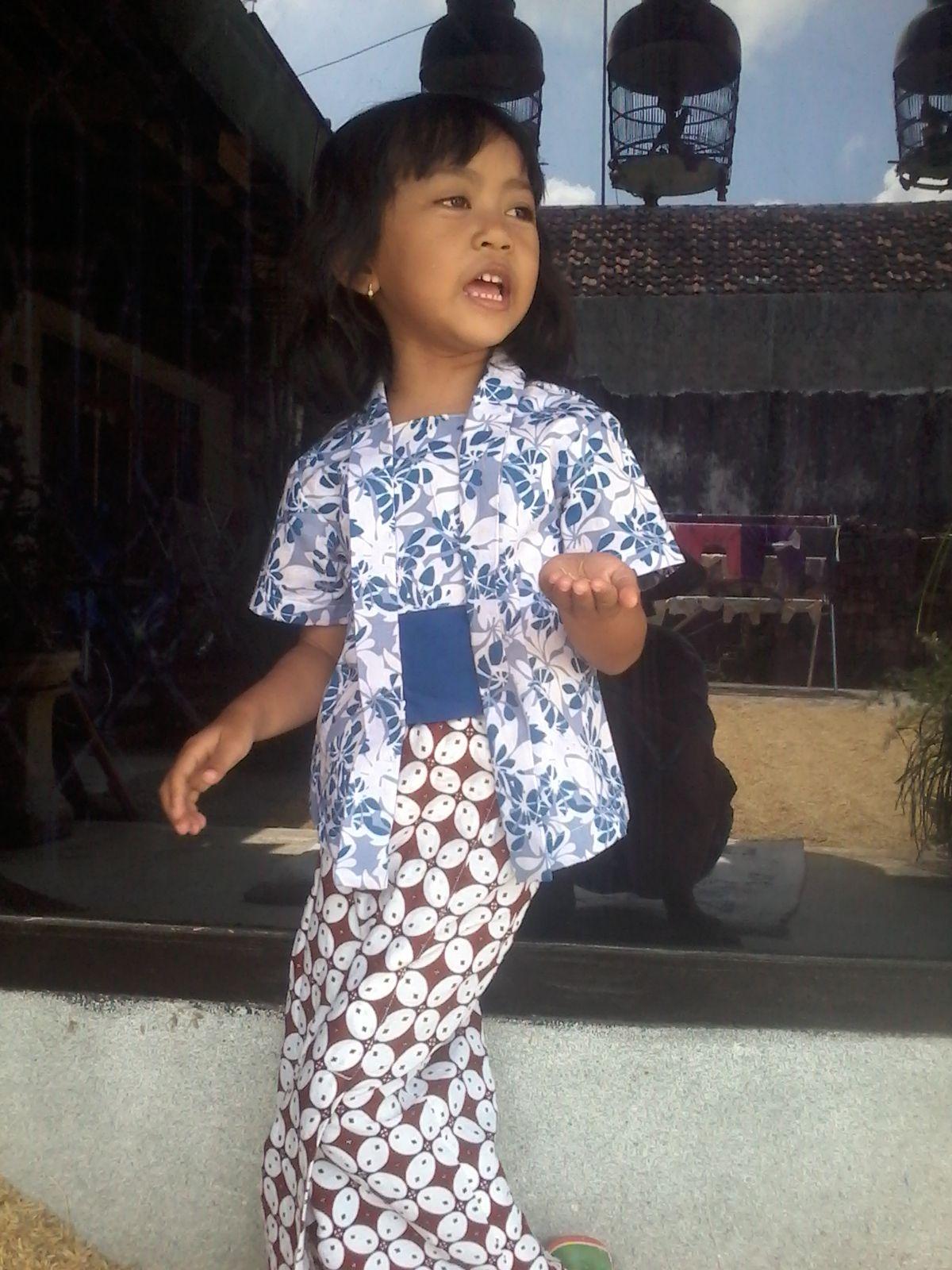 Kebaya Conjonctif Connective Kebaya Anak Boesoem Kutubaru