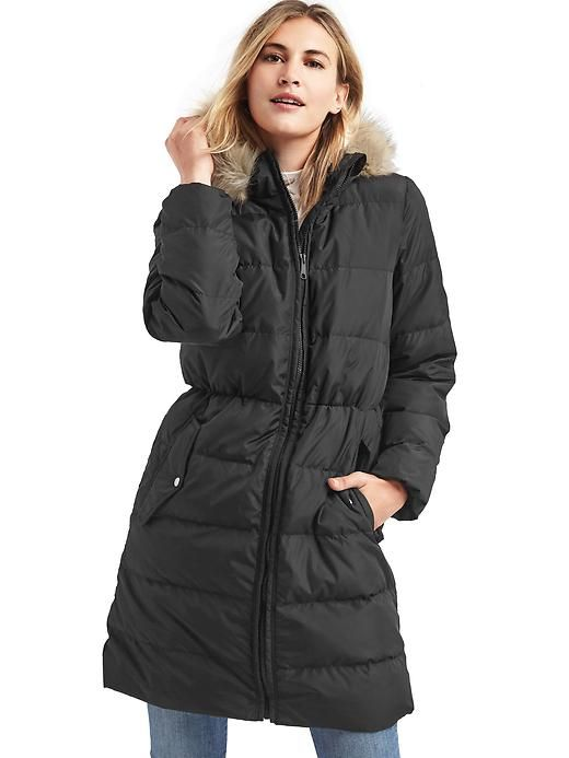 very nice Lipsy Quilted Long Puffer | 2016/17 new season long ... : quilted long down coat - Adamdwight.com