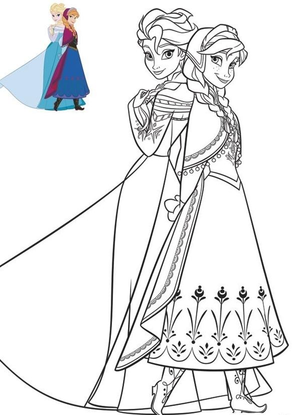 45 Free Printable Coloring Pages to Download Elsa
