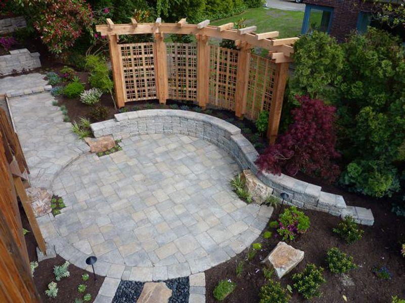 aggregate concrete ideas | create a beautiful patio using