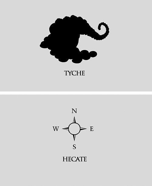 Tyche And Hecate Percy Jackson Pinterest Percy Jackson