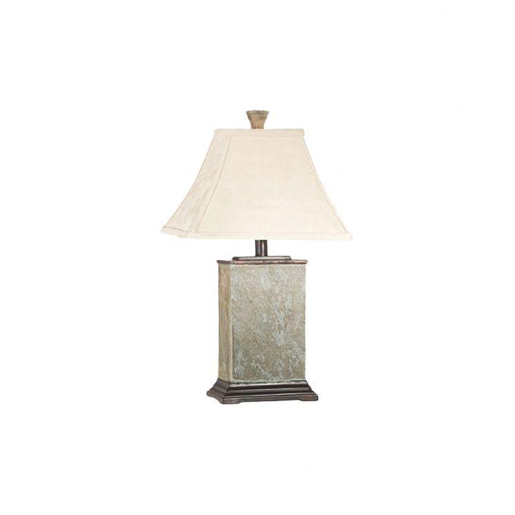 Goya Table Lamp In Natural Slate Holiday Island Pinterest Slate