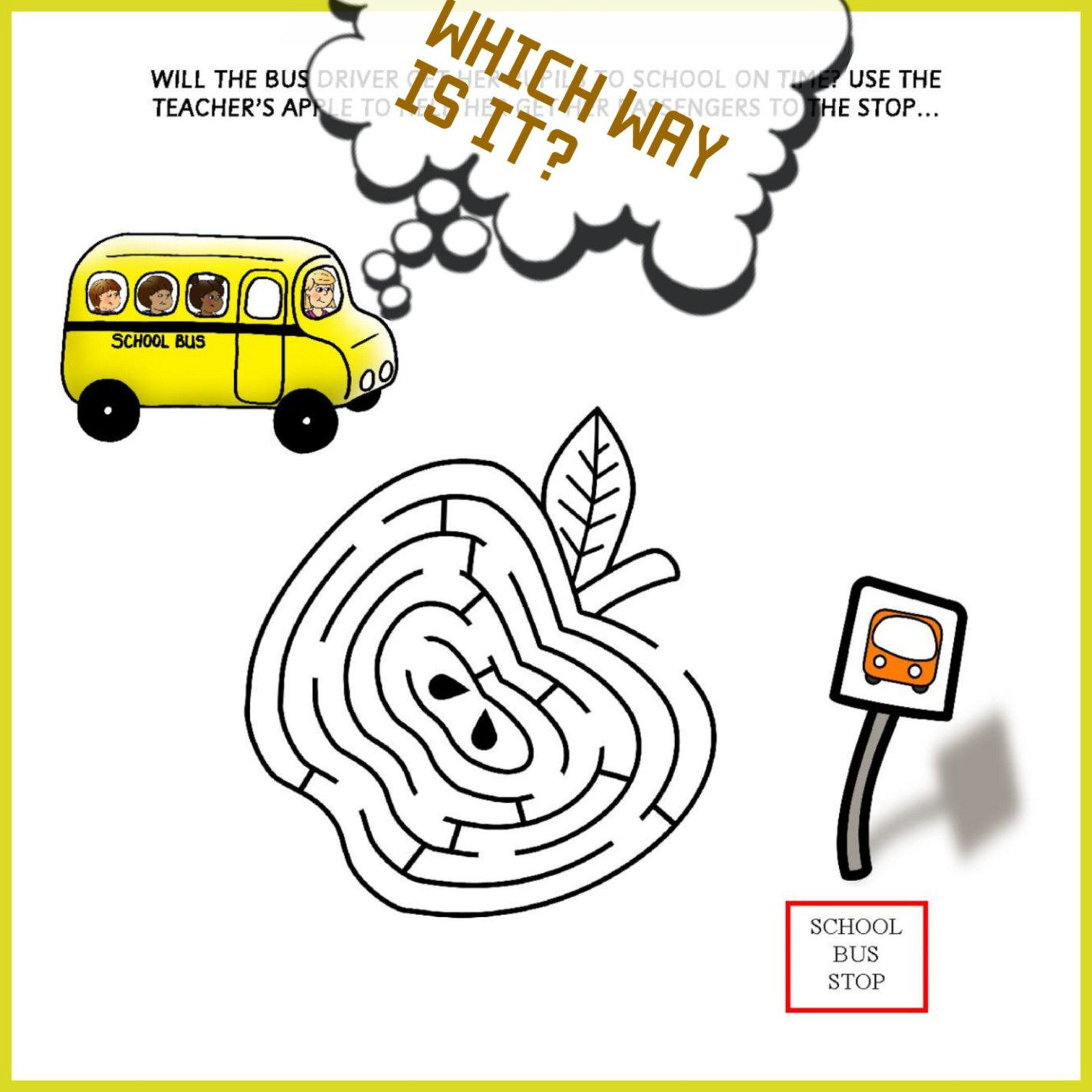 School Bus Passengers   School buses, Worksheets and School
