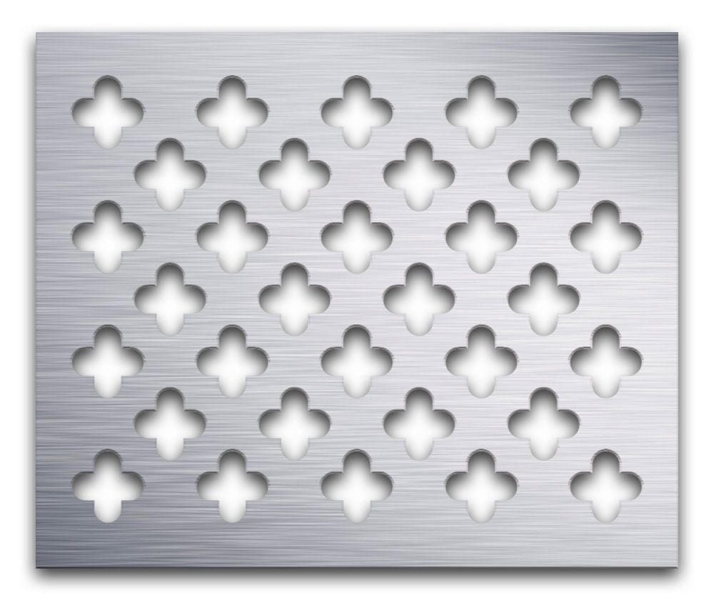 AAG717 Clover Leaf | Artistry in Architectural Grilles & Metal