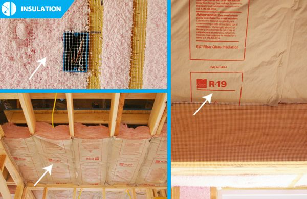 R15 Insulation Blown In In Wall Cavities R19 Insulation Batt On Slopes And R30 Insulation Batt Blown In In Att R30 Insulation R19 Insulation Insulation
