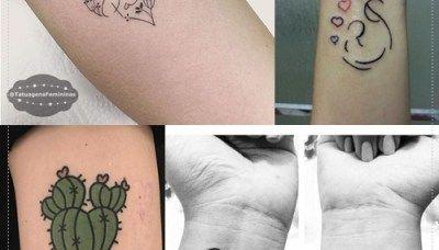 10 tatuagens delicadas para homenagear mães, pais e filhos