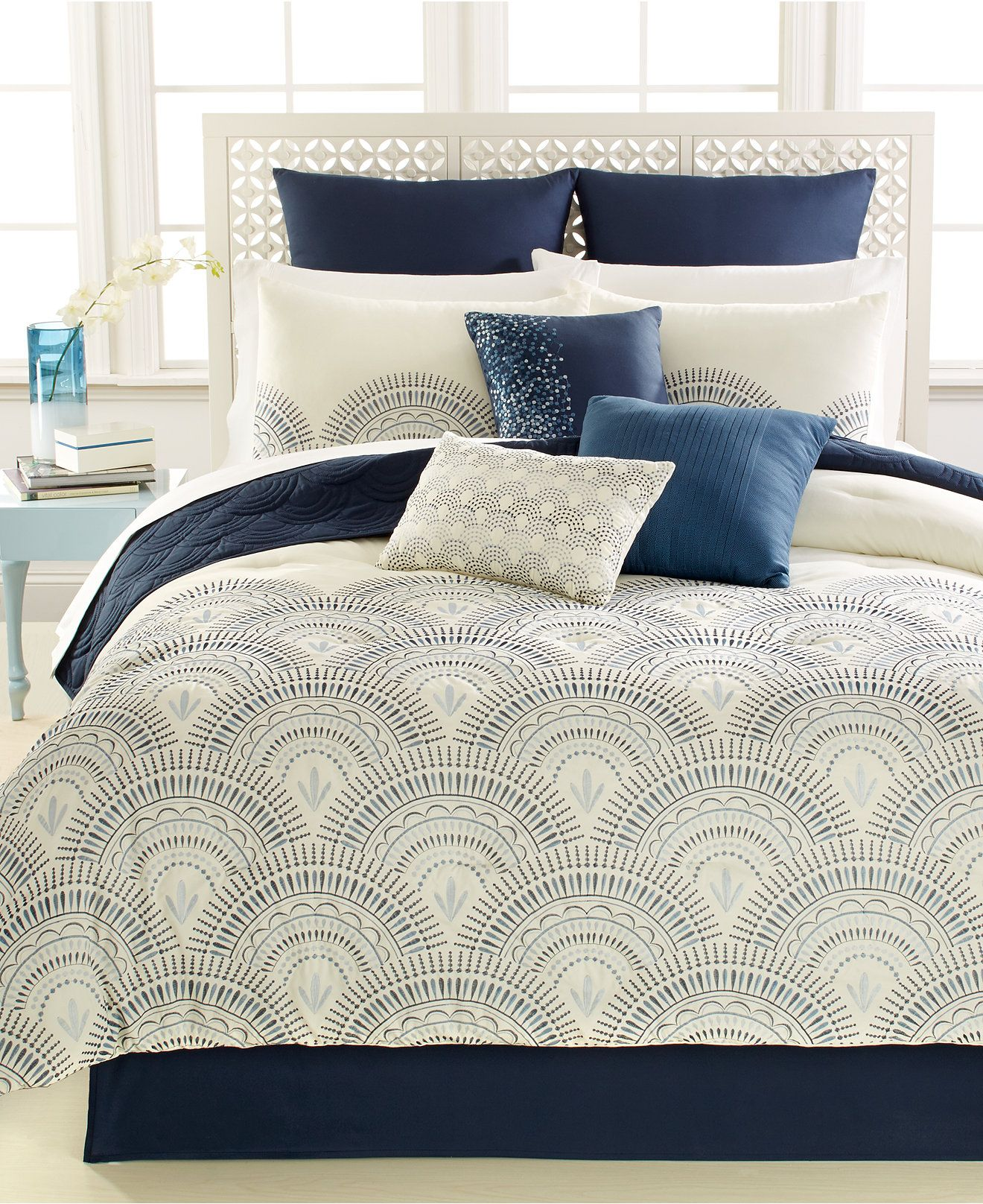 Reese 10 Pc California King Comforter Set