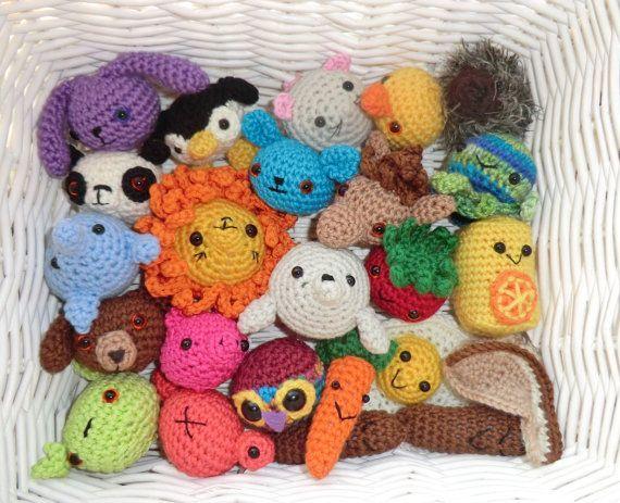 Easy Amigurumi Crochet Patterns For Beginners : The bobble bunch very easy amigurumi crochet patterns ideas