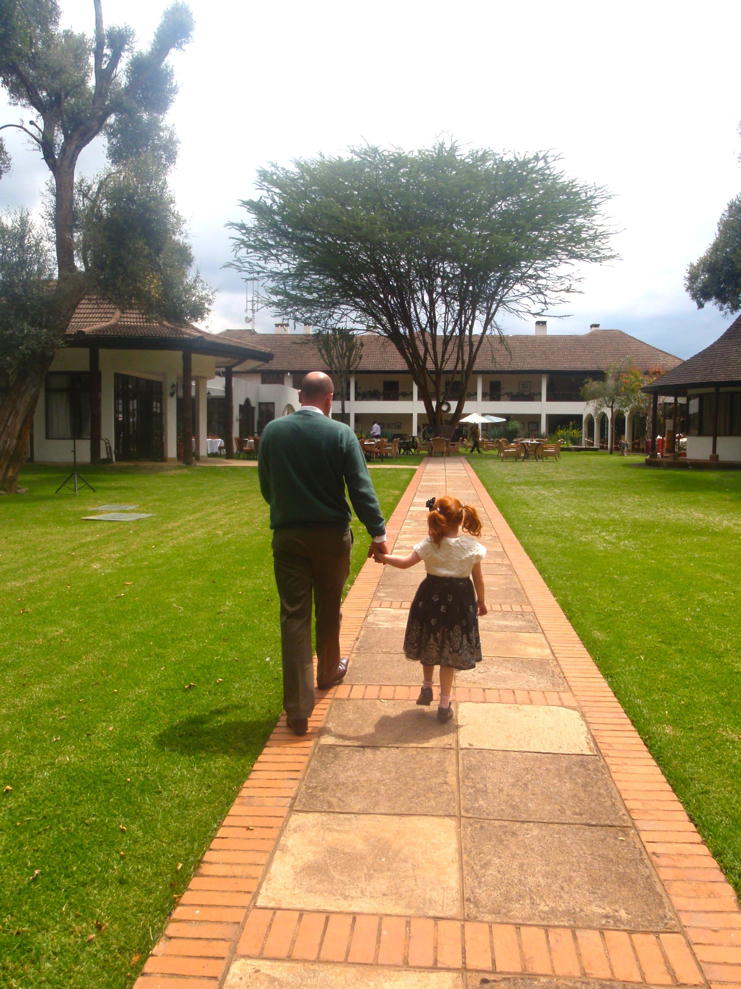 Fairmont Mt Kenya Safari Club Is Built On The Line Of The Equator