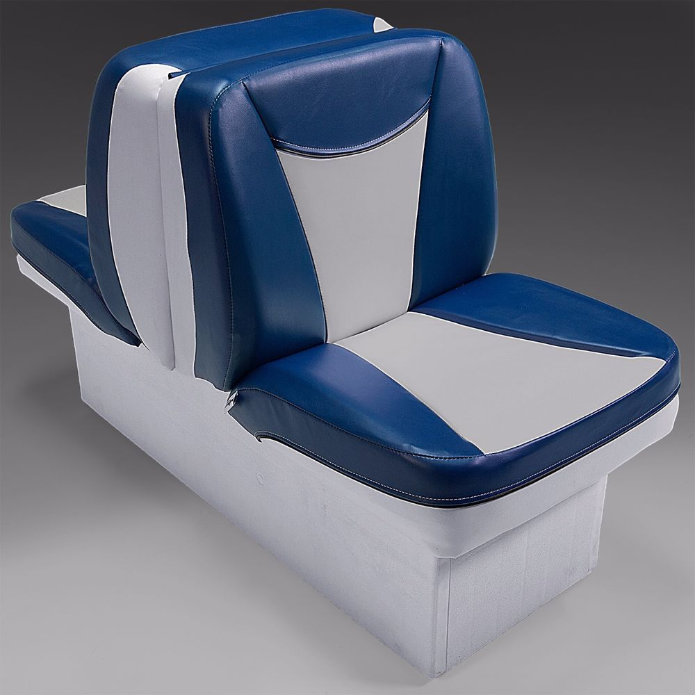 Deckmate Premium Back To Back Boat Seats Lounge Seats Gray