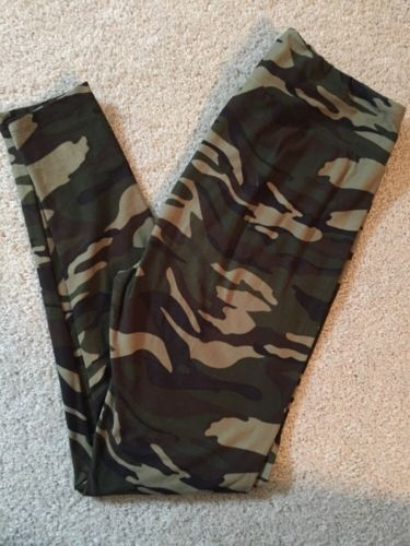 b8d251f2709776 Details about New LuLaRoe Leggings Tall and Curvy TC Camo Pink ...
