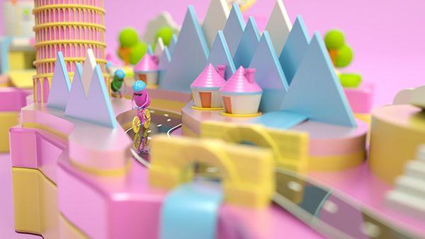 Giro d'Italia on Behance