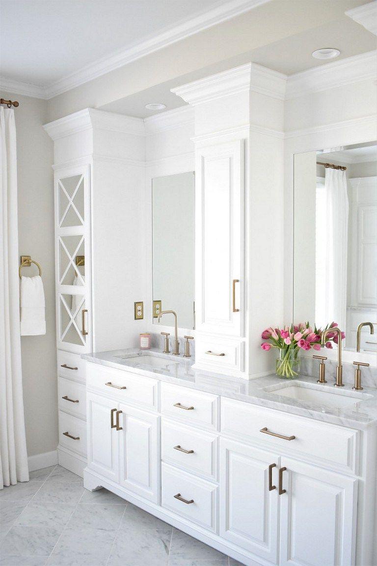 Modern master bathroom renovation ideas 53 | Modern master bathroom ...