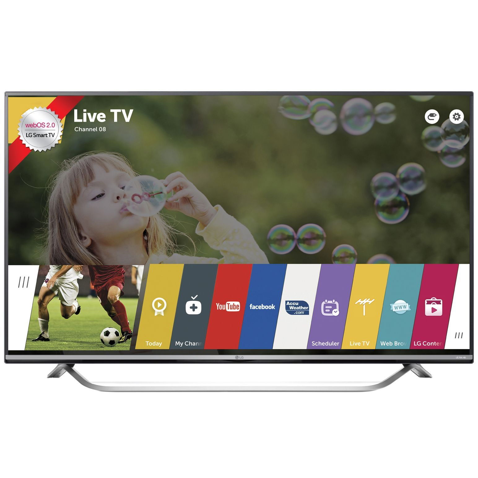 Телевизор Smart LED LG 43UF7787 (Ревю (With images