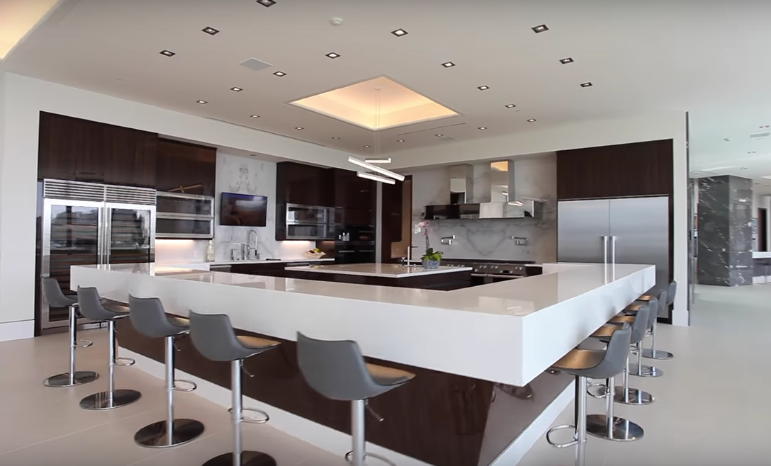 This Newly Built Modern Mega Mansion Is Located At 10979 Chalon