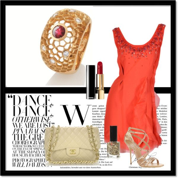 """""""Coral!"""" by costisjewelry on Polyvore"""