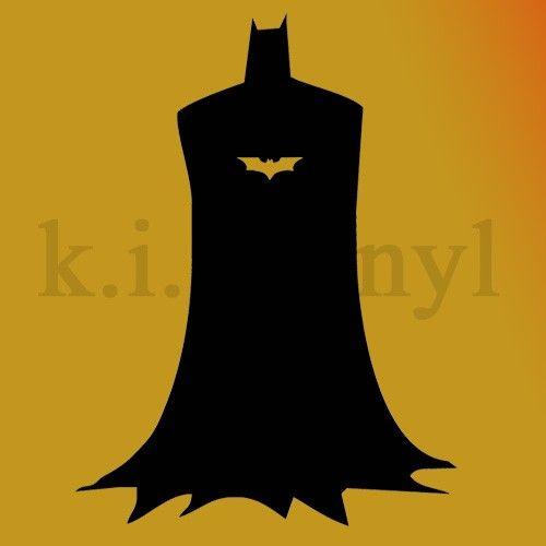 Bat Man Vinyl Decal Wall Art Sticker comic wall decor by kisvinyl ...
