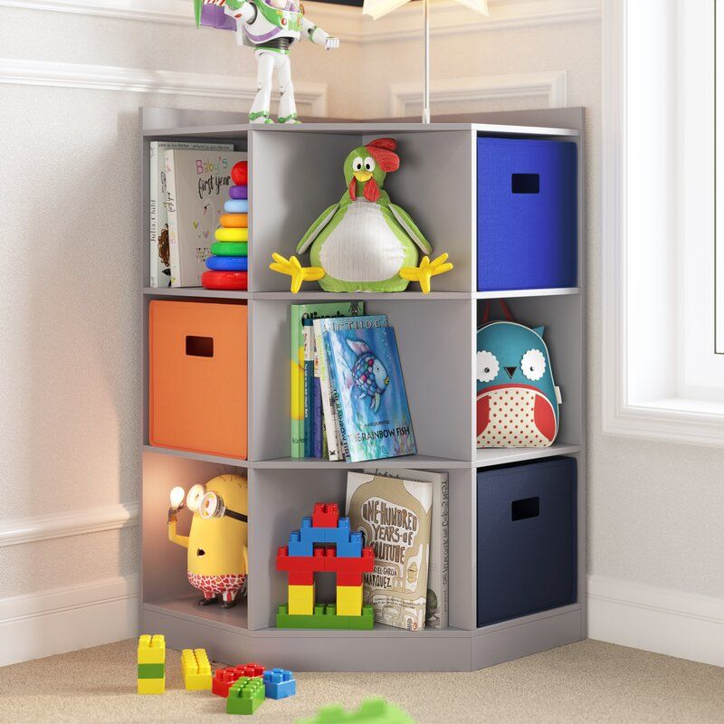 Futch Riverridge Toy Organizer In 2020 Kids Furniture Toy Organization Corner Storage