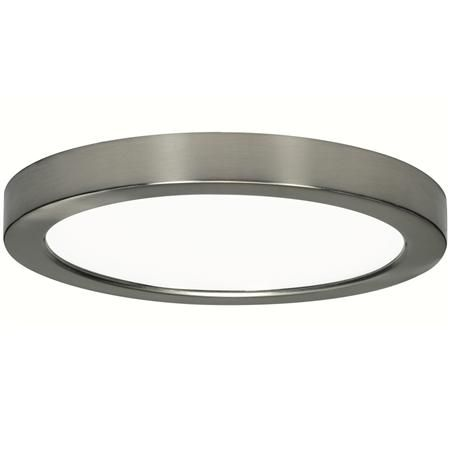 9 Led Simple Round Low Profile Ceiling Light This Is The Perfect Solution When Recessed Lighting Not An Option