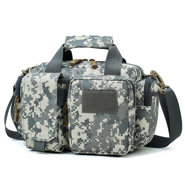 601df28c4fa Men Outdoor Canvas Multi-function Crossbody Bag Camouflage Waist Bag ...