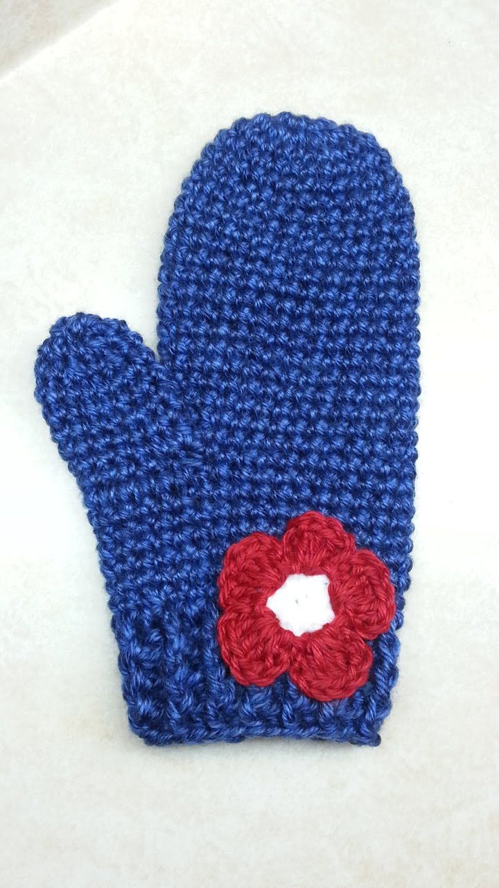 DIY #Crochet Mittens Crochet Gloves #TUTORIAL Closed Caption crochet ...