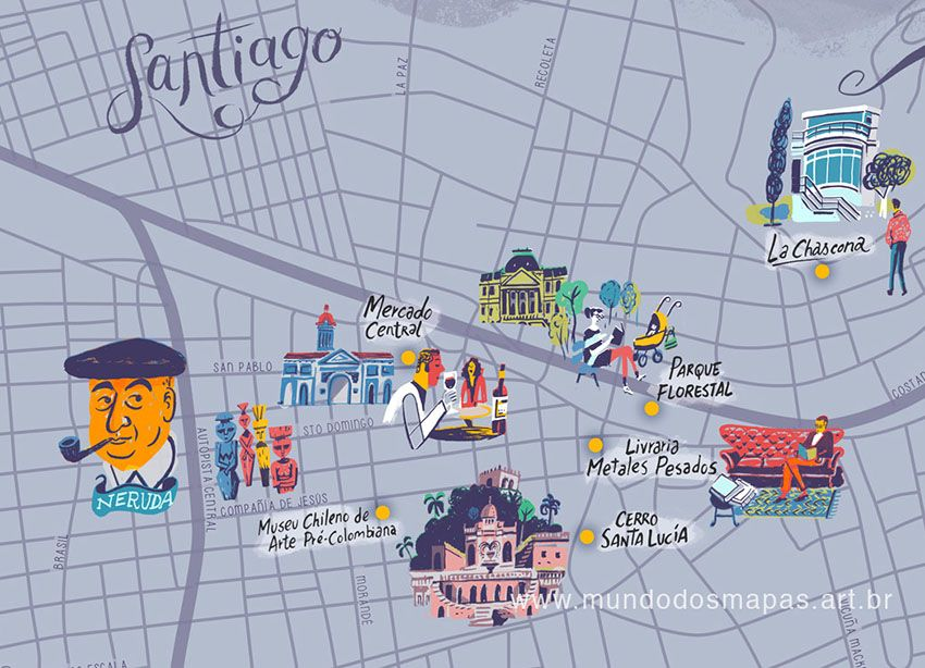 Santiago do Chile by Nik Neves & Marina