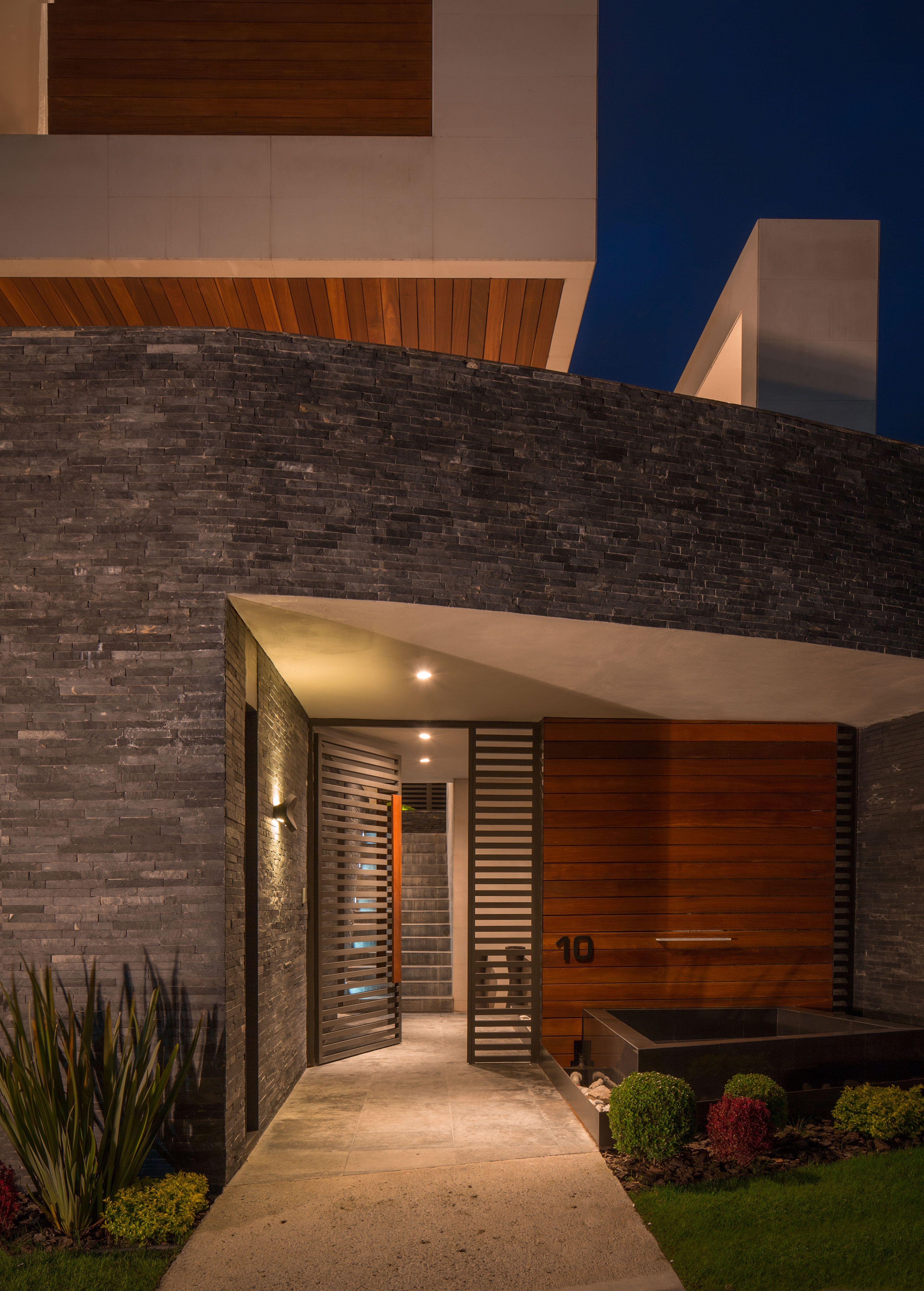 49 Most Popular Modern Dream House Exterior Design Ideas 3: Pozas Arquitectos