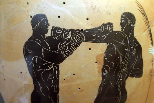 ancient greek sports pictures | Ancient Greek Sports: boxing ...
