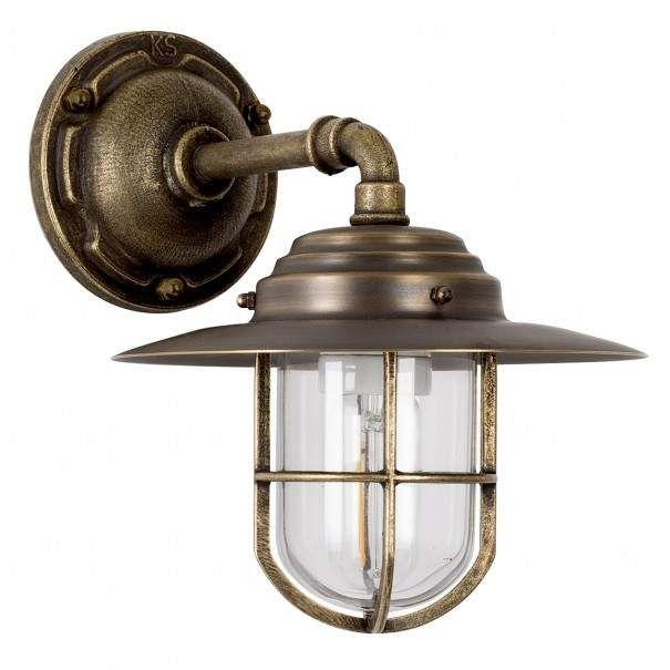 Bronzen Stallamp Tours - Nautische verlichting, Brons en Buitenlampen