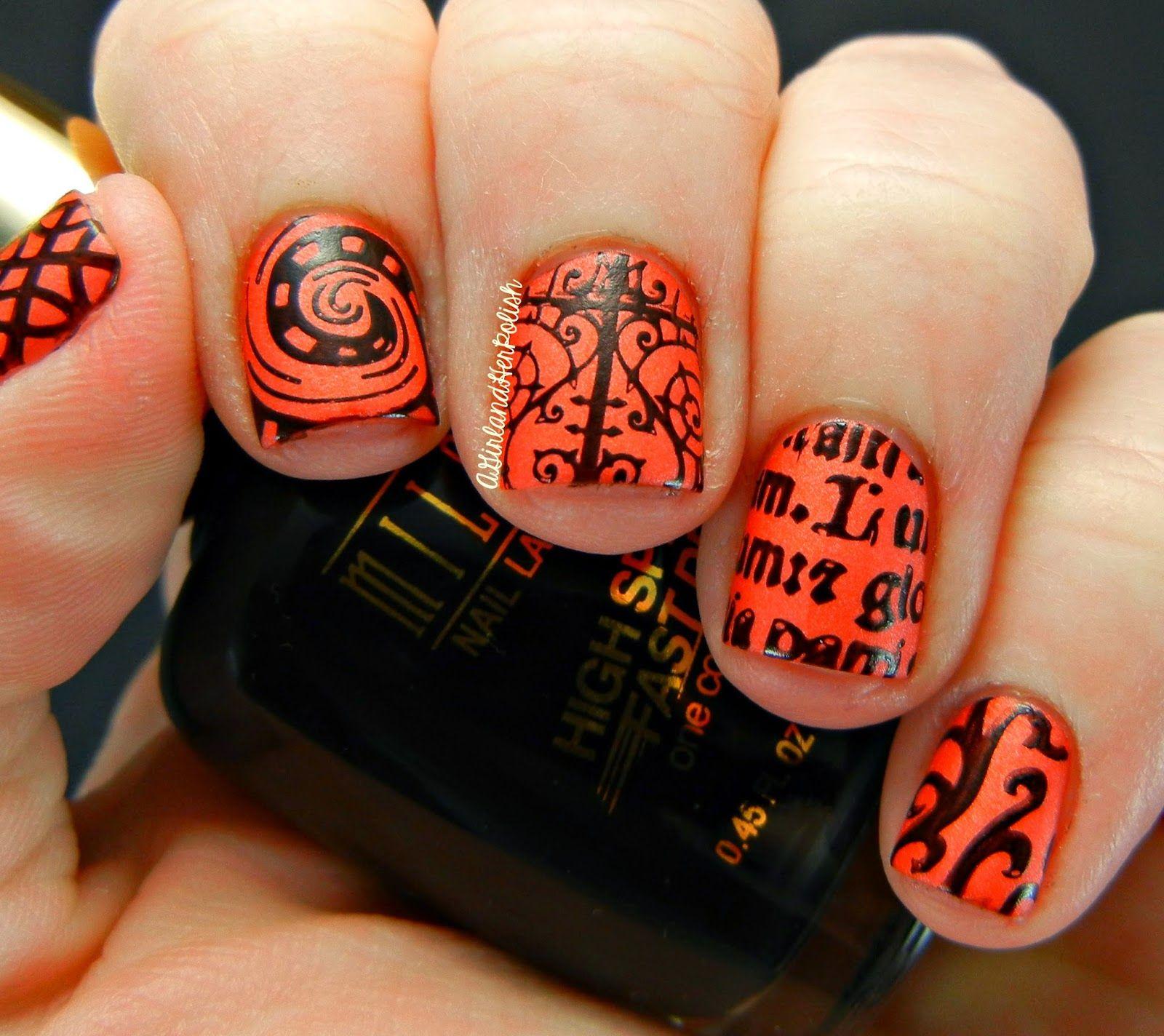 Happy Halloween! | Nail art designs, Nails, Polish