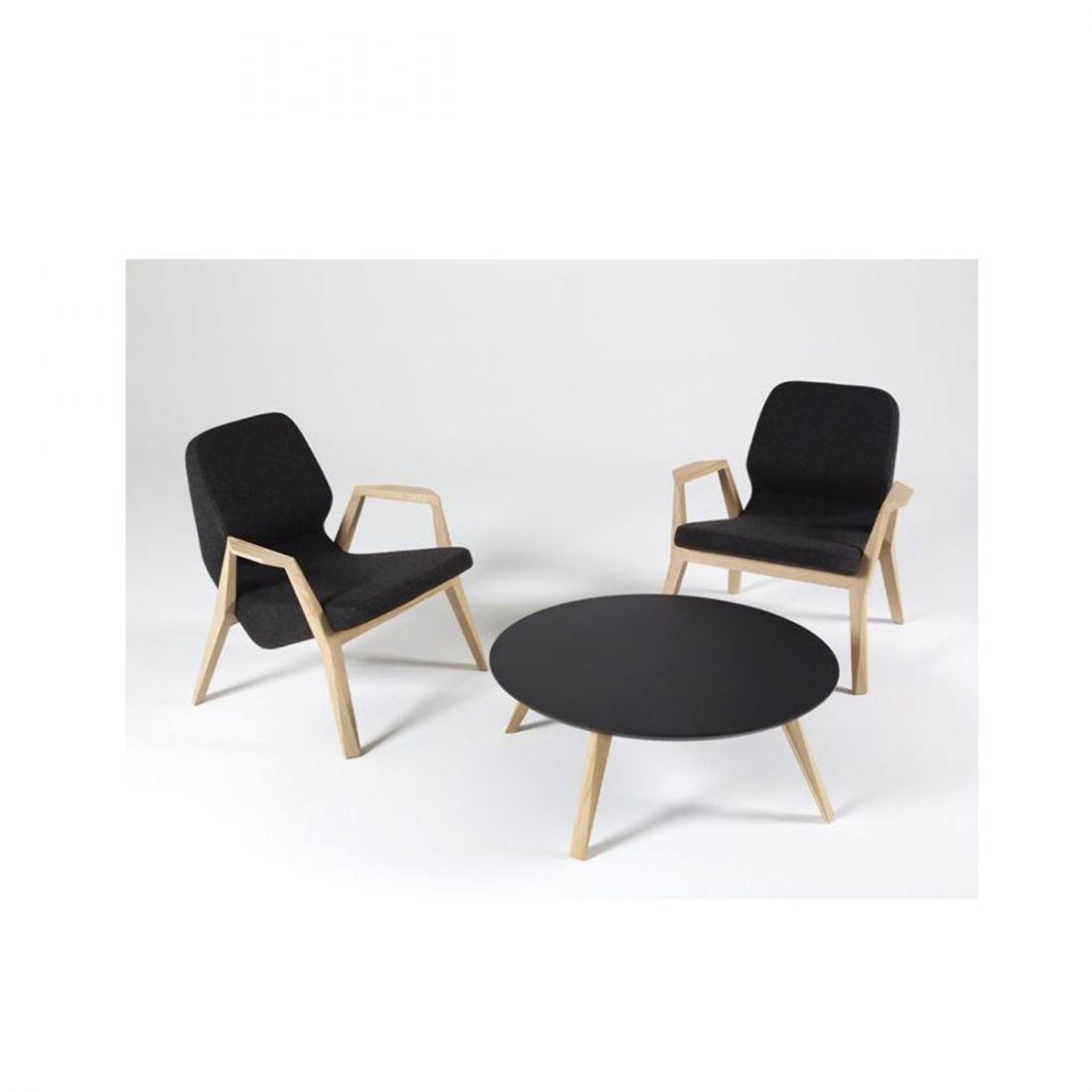 Fauteuil bas design Oblique PROSTORIA Zendart Design