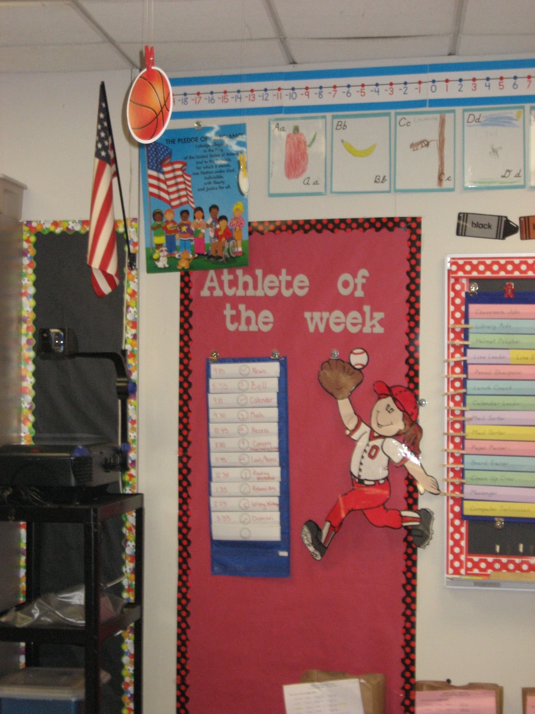Star student/athlete of the week