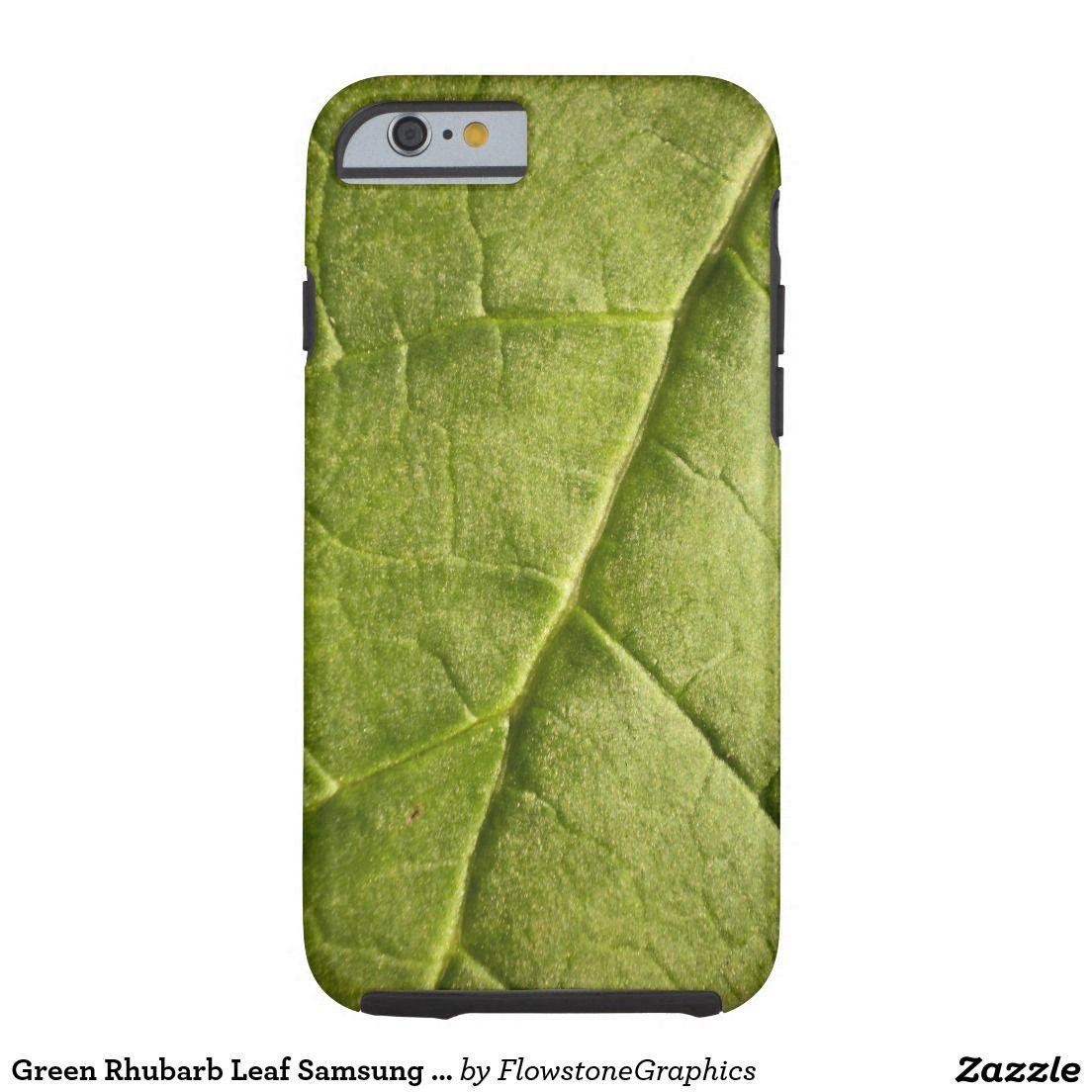 Green Rhubarb Leaf Samsung iPhone 6 Case