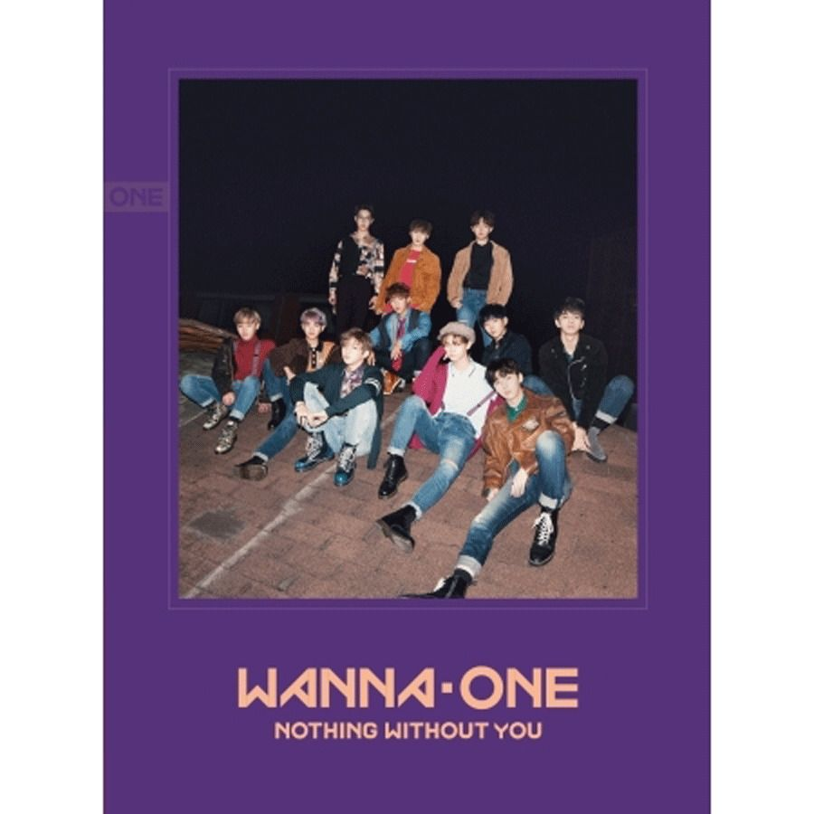 Wanna One Nothing Without You Wanna Ver 2nd Mini Album Wannaone
